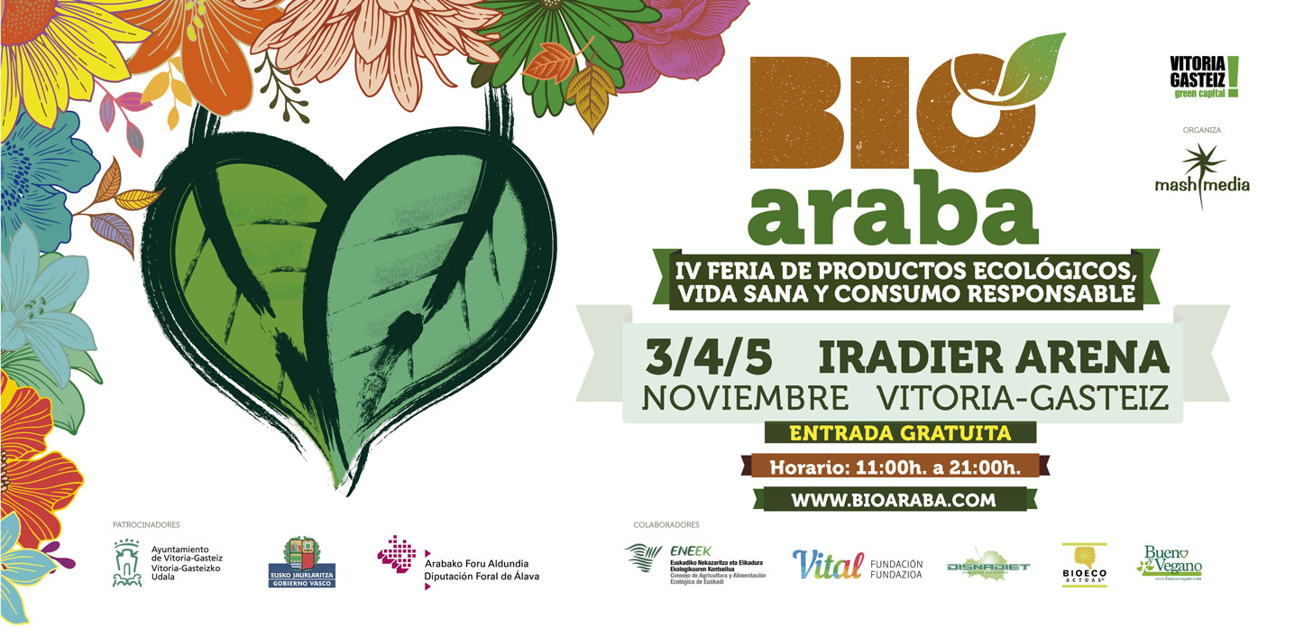 Feria en Álava para alimentos ecológicos